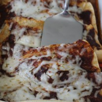 Beef Enchiladas with Red Sauce