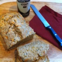 Herbed Cheddar Stout Bread….and an extra surprise