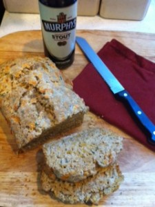 Herbed Cheddar Stout Bread....and an extra surprise - Hall Nesting