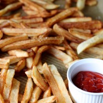 Homemade French Fries for First Friday