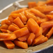My First Time to Cook and Glazed Carrots