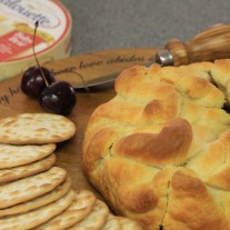 Baked Brie and Roasted Cherries