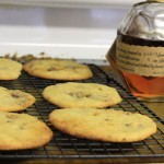 Bourbon Caramel Chocolate Cookies