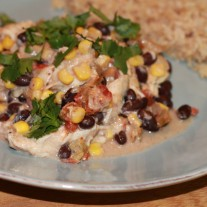 #backinthekitchen with Mexican Chicken Casserole