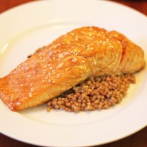 Sweet Ginger and Soy Salmon