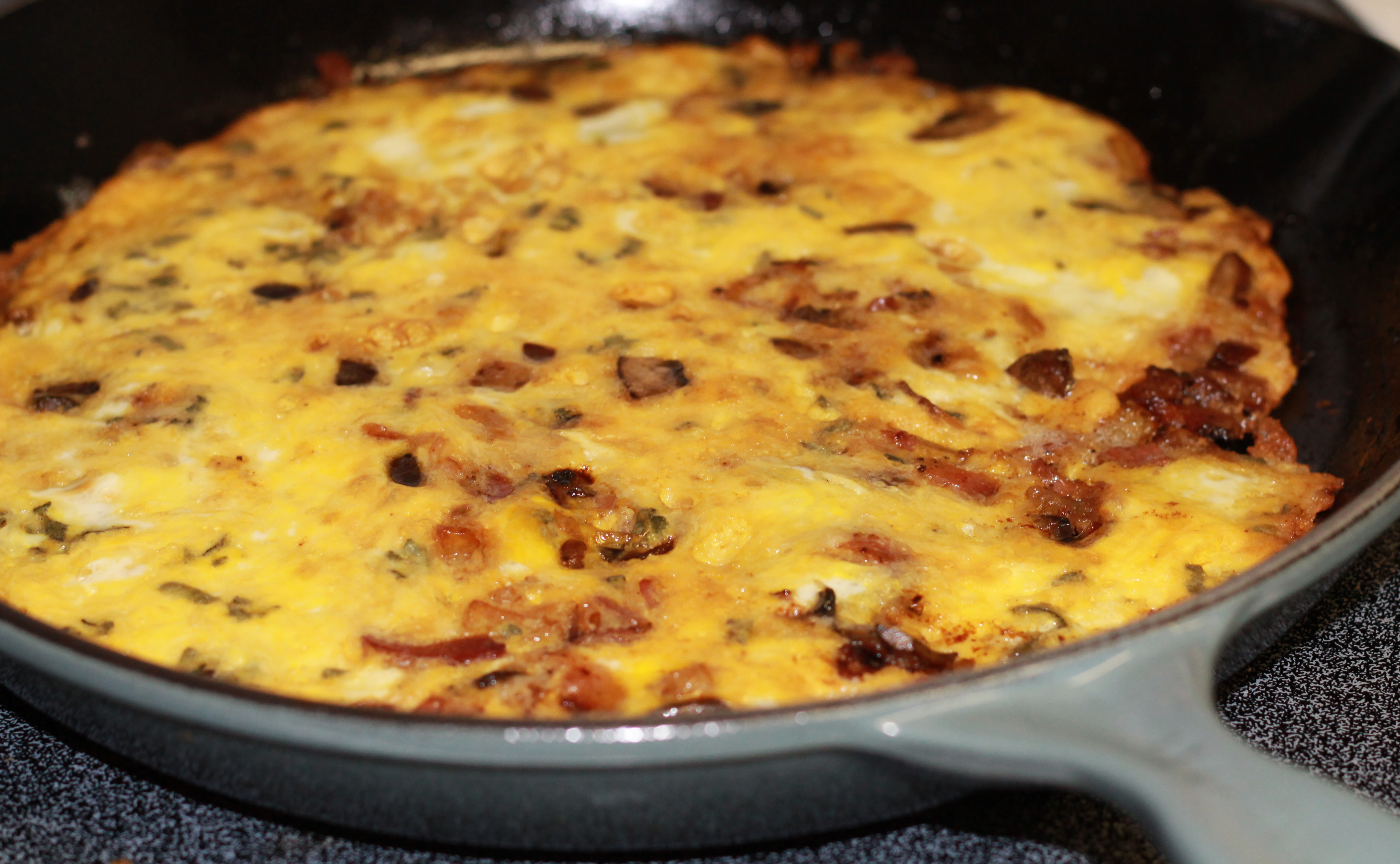 ... ado back to that frittata I made for this sweet husband of mine