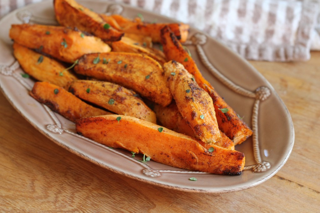 oven baked sweet potato wedges   hall nesting