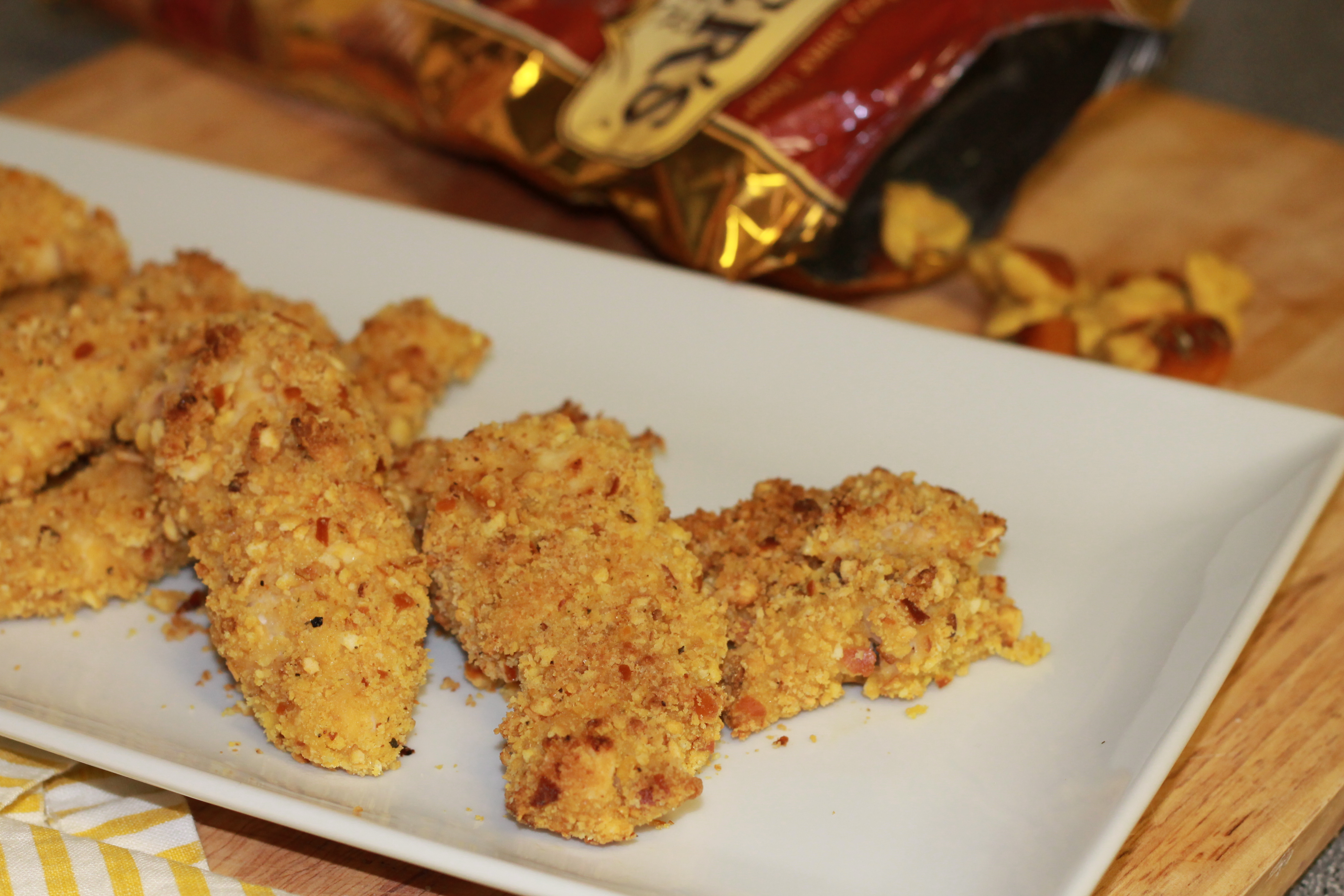 Honey Mustard Pretzel Chicken - Hall Nesting