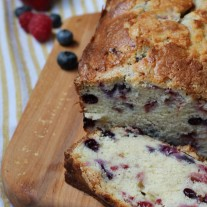 Triple Berry Bread