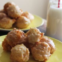 Maple Glazed Donut Holes