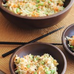 This Asian Slaw is quick, easy and so full of flavor. Perfect for a side dish!