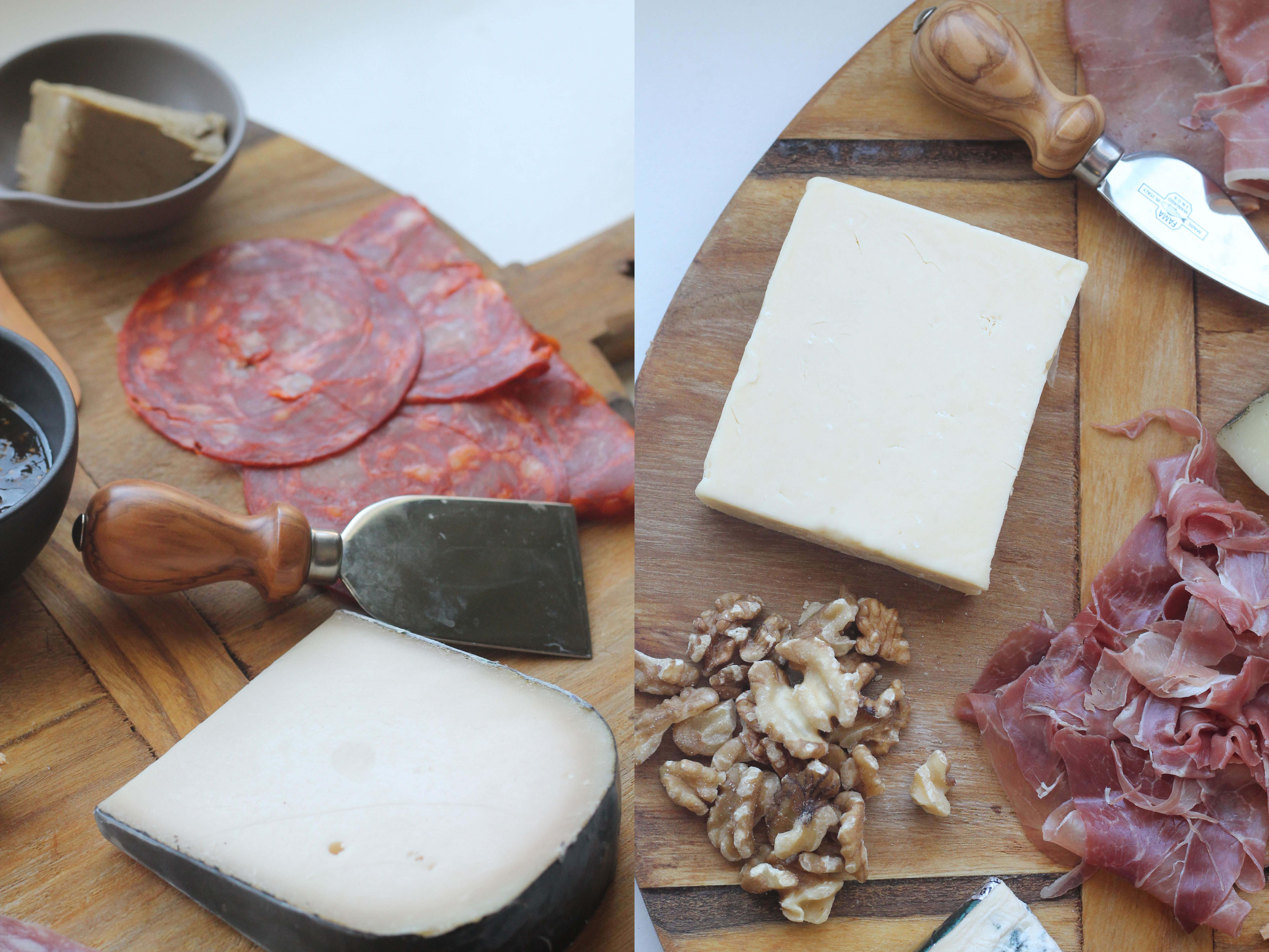 A fun way to entertain guests - How to make a Cheese & Charcuterie Board | Hall Nesting