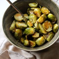 Honey Mustard Brussels Sprouts