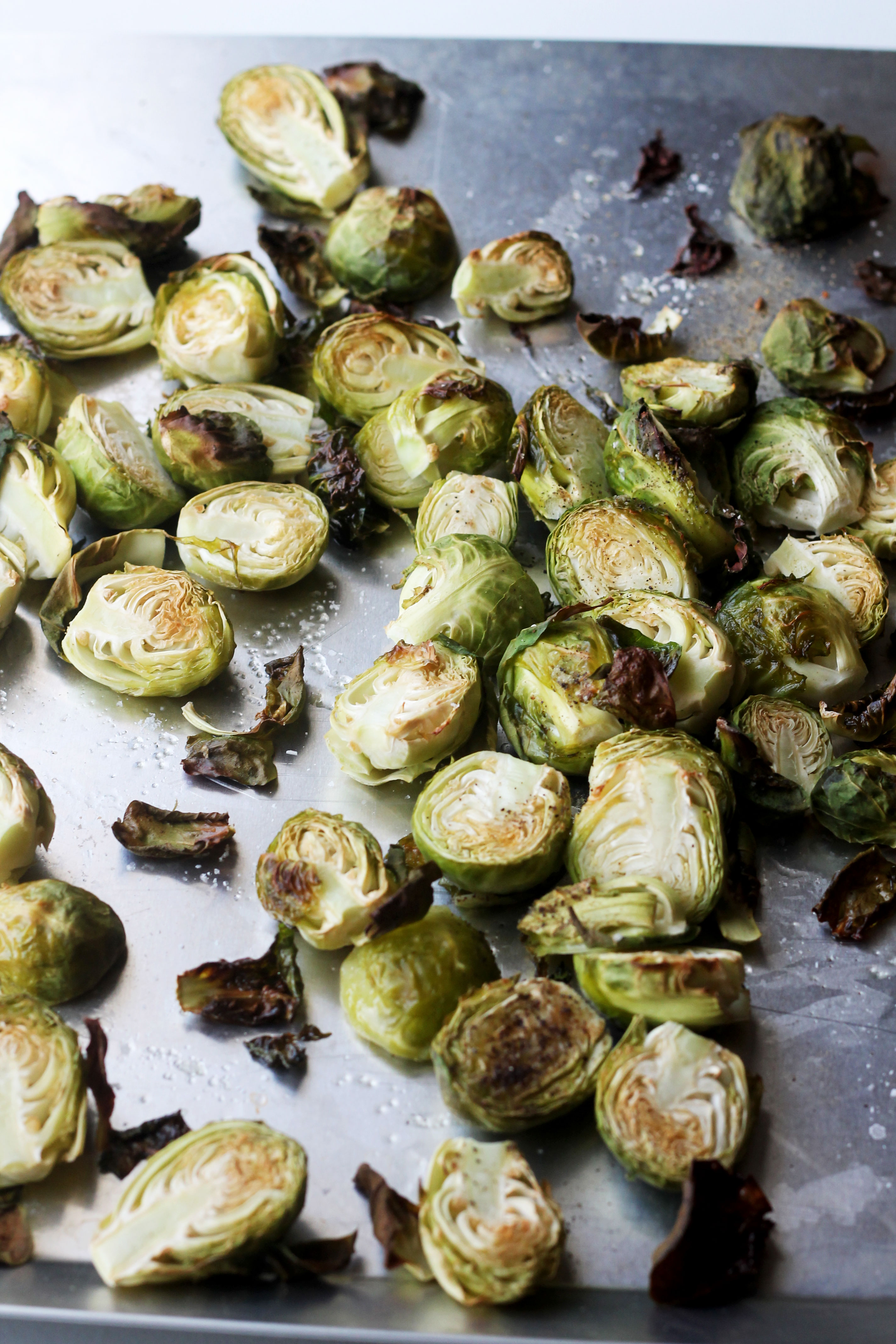 Honey Mustard Brussels Sprouts - the perfect side dish to any meal