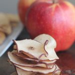 Crispy, Healthy, Baked Apple Chips
