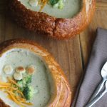 This Broccoli Cheese Soup is the BEST recipe to get you through those cold winter days!