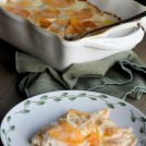 Looking for the best Scalloped Sweet Potato dish? These Gruyere Scalloped Sweet Potatoes are it!