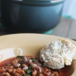 Black Eyed Pea and Collard Green Soup - the perfect Southern New Year's Tradition