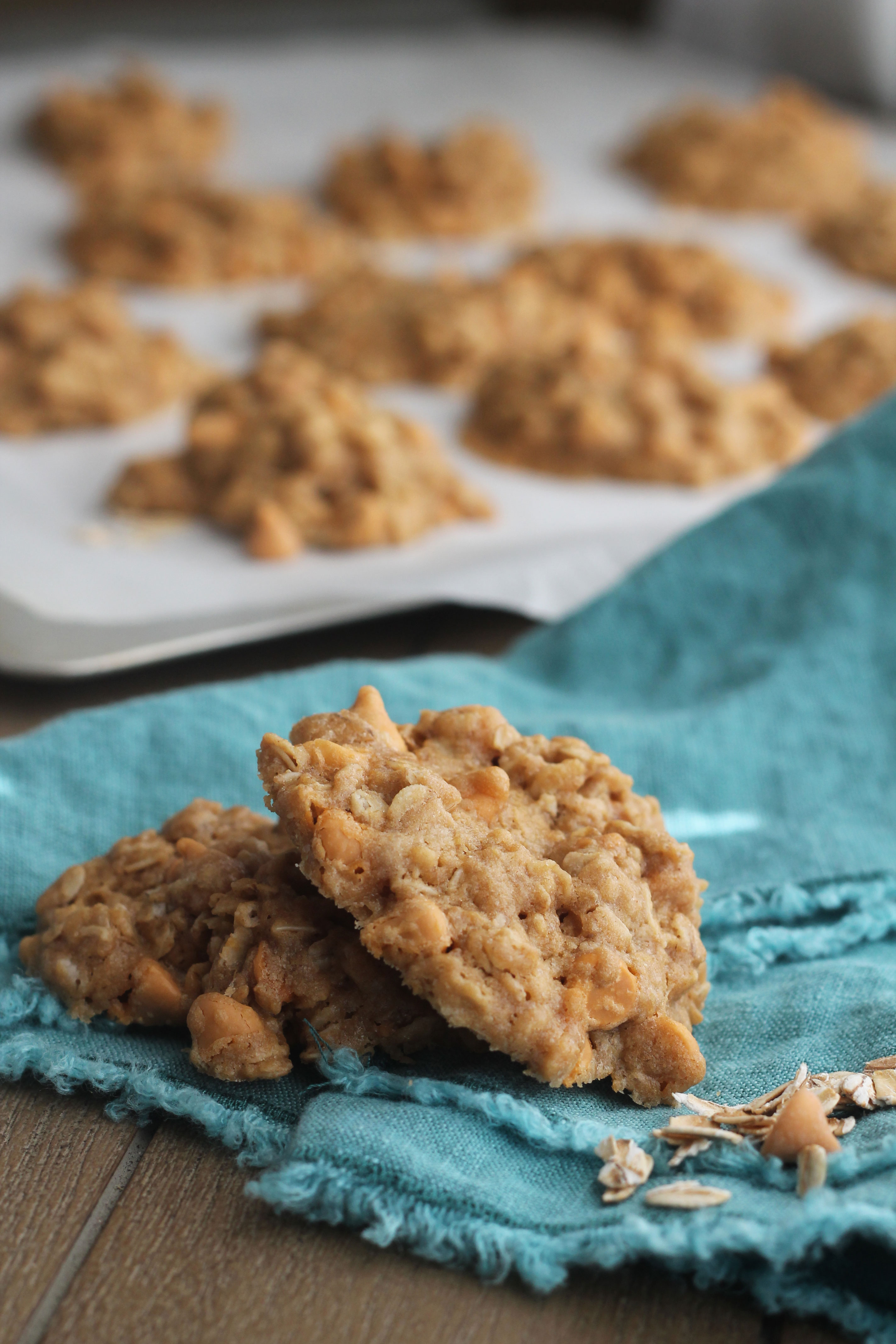 If you love the classic Oatmeal Cookies and like butterscotch then you will want to try these cookies out!