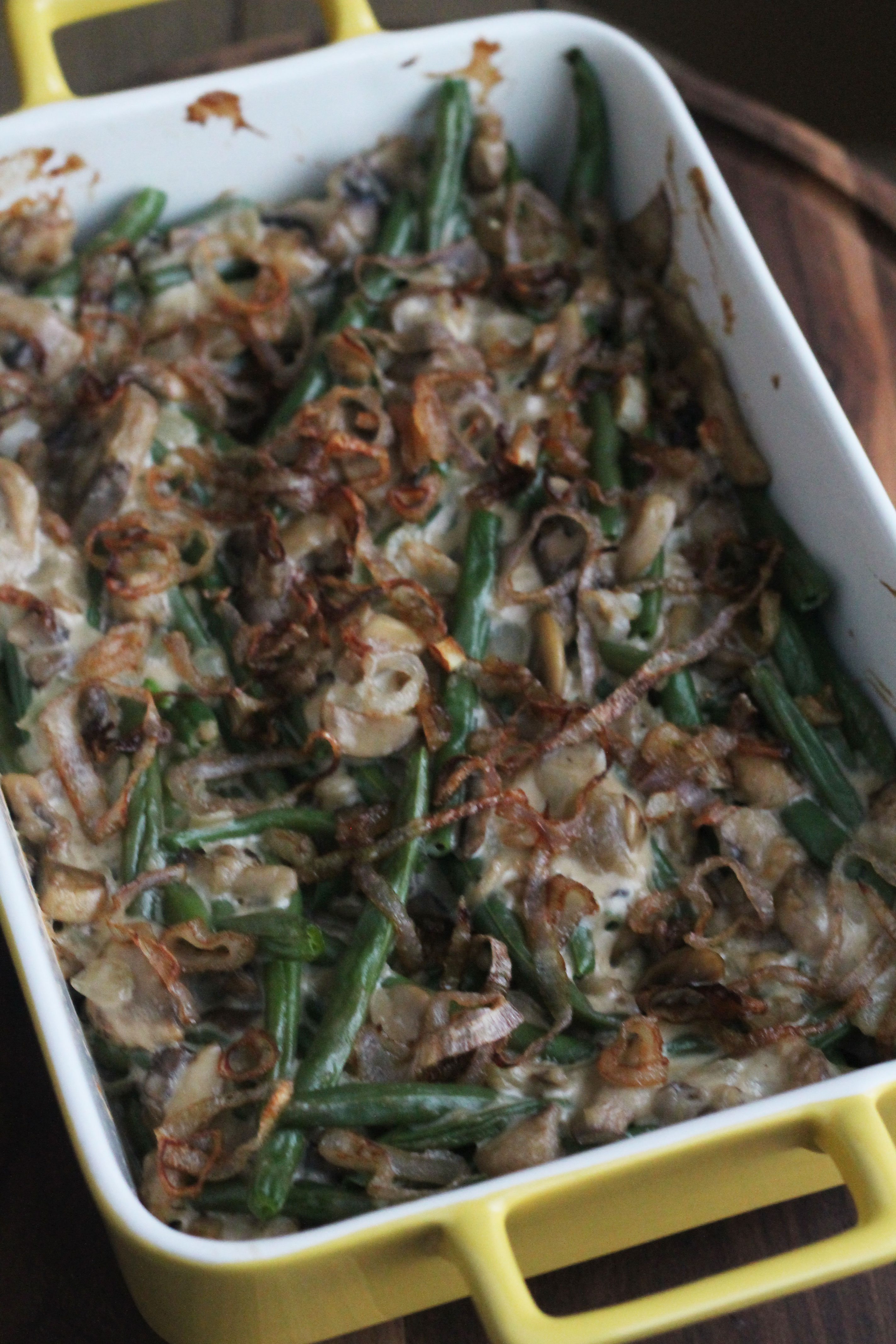 This Green Bean Casserole can make it on your dinner table any time of the year!