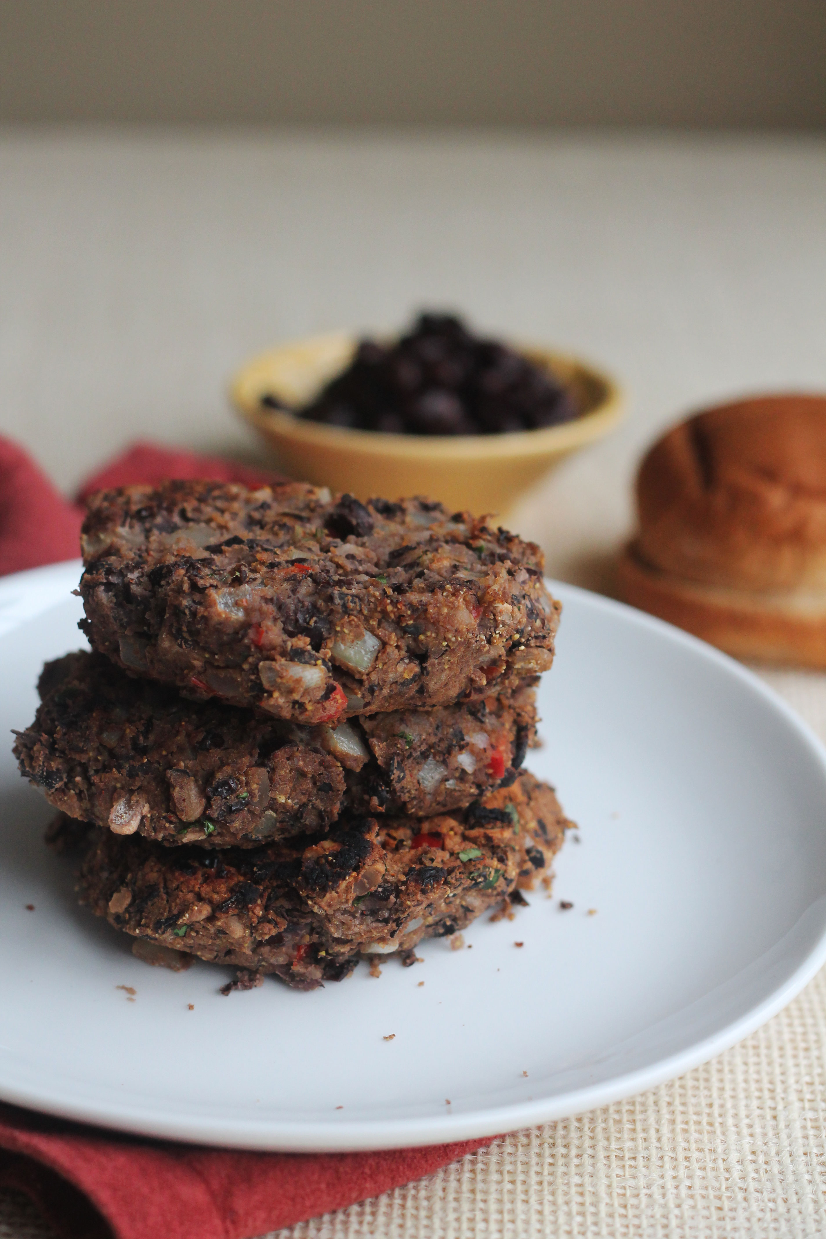 You won't even miss the meat in these Black Bean Burgers!