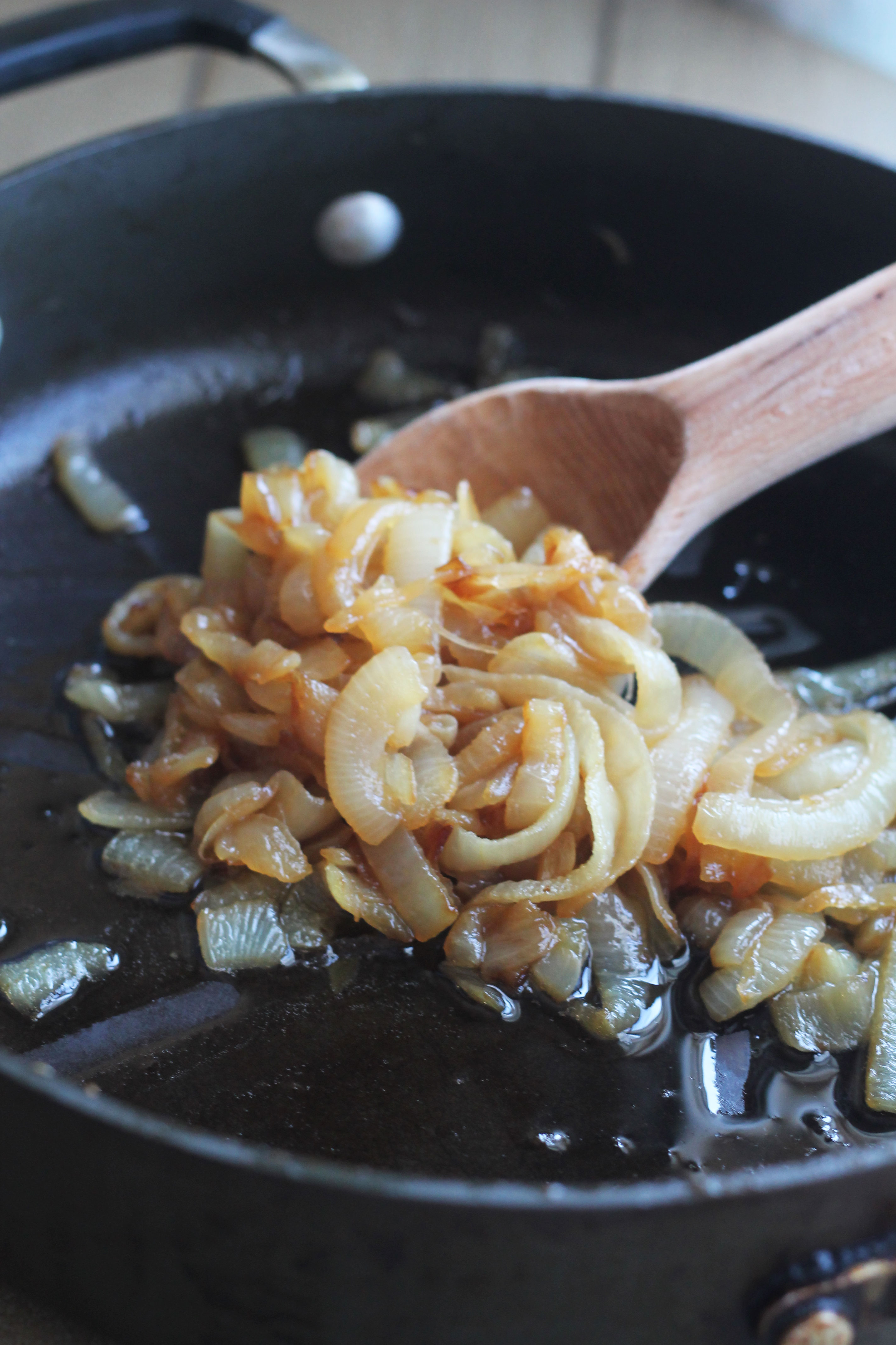 These Caramelized Onions top a delicious burger to make your new favorite French Onion Burger