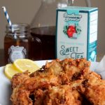 Sweet Tea Fried Chicken with Bourbon Maple Syrup
