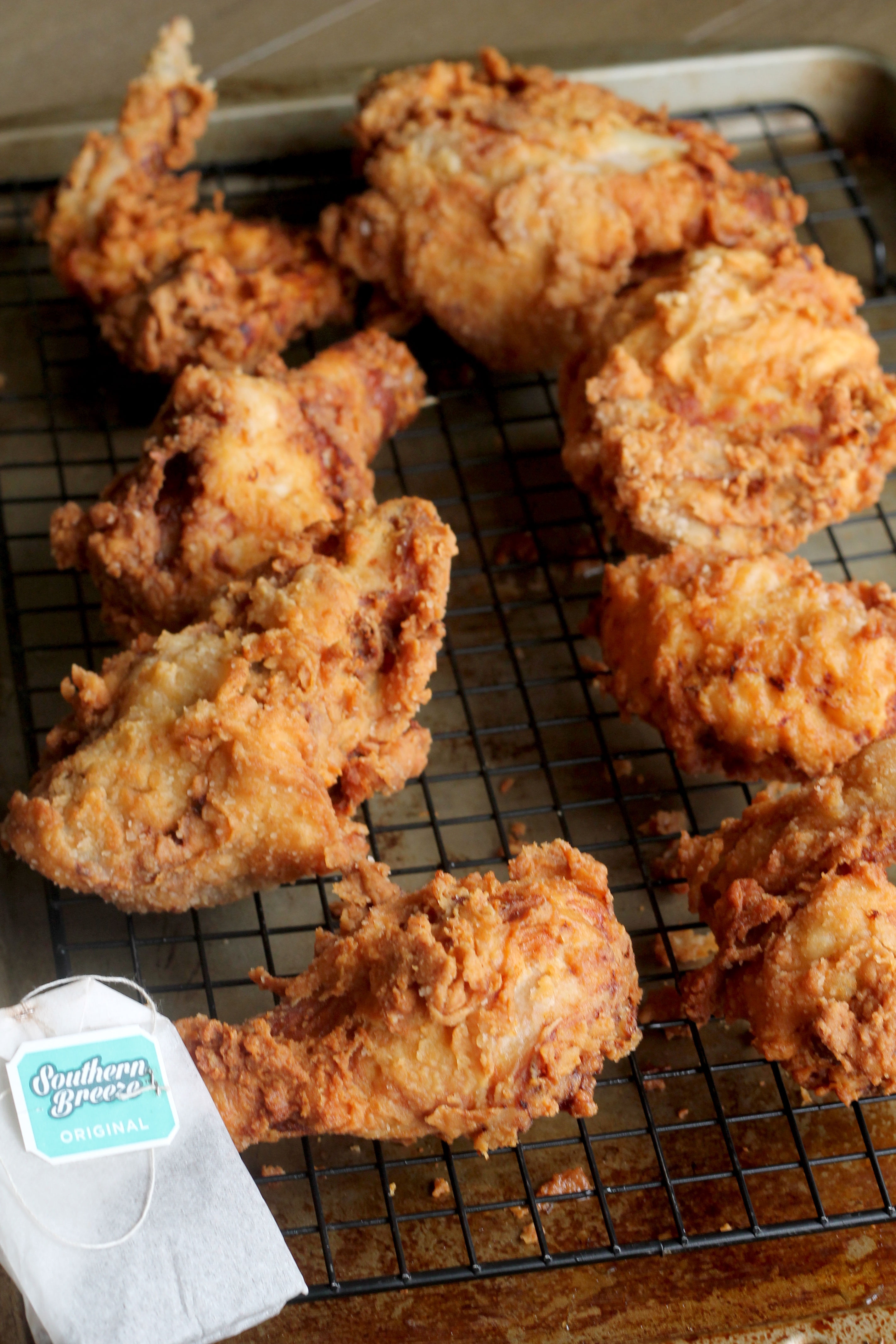 This Sweet Tea Fried Chicken will be a hit at your summer bbq