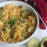 Your traditional corn salad takes on some Mexican flair