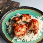 Sweet and Sour Baked Chicken Thighs