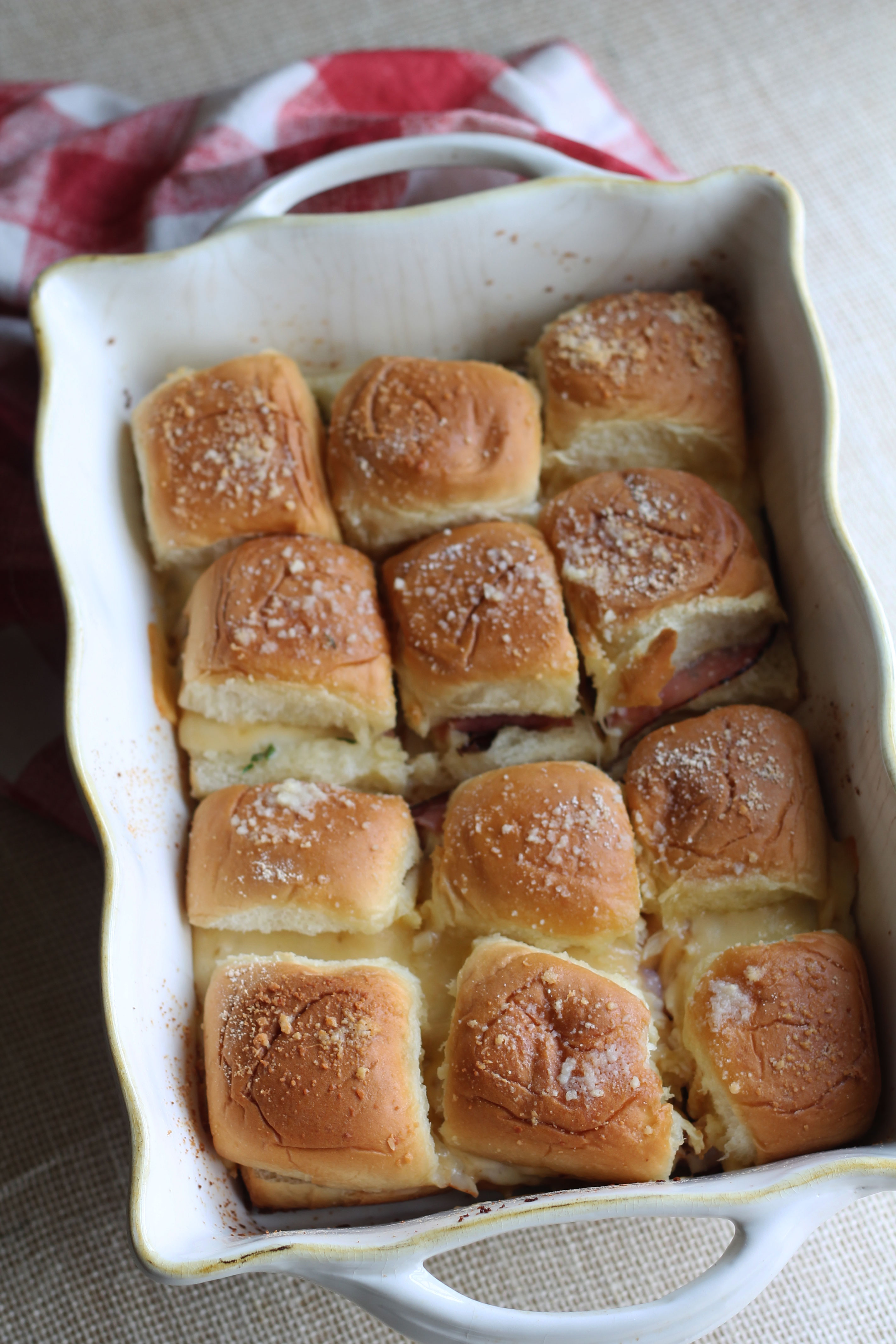 These are the ultimate game day eats Fancy Tailgating Sliders