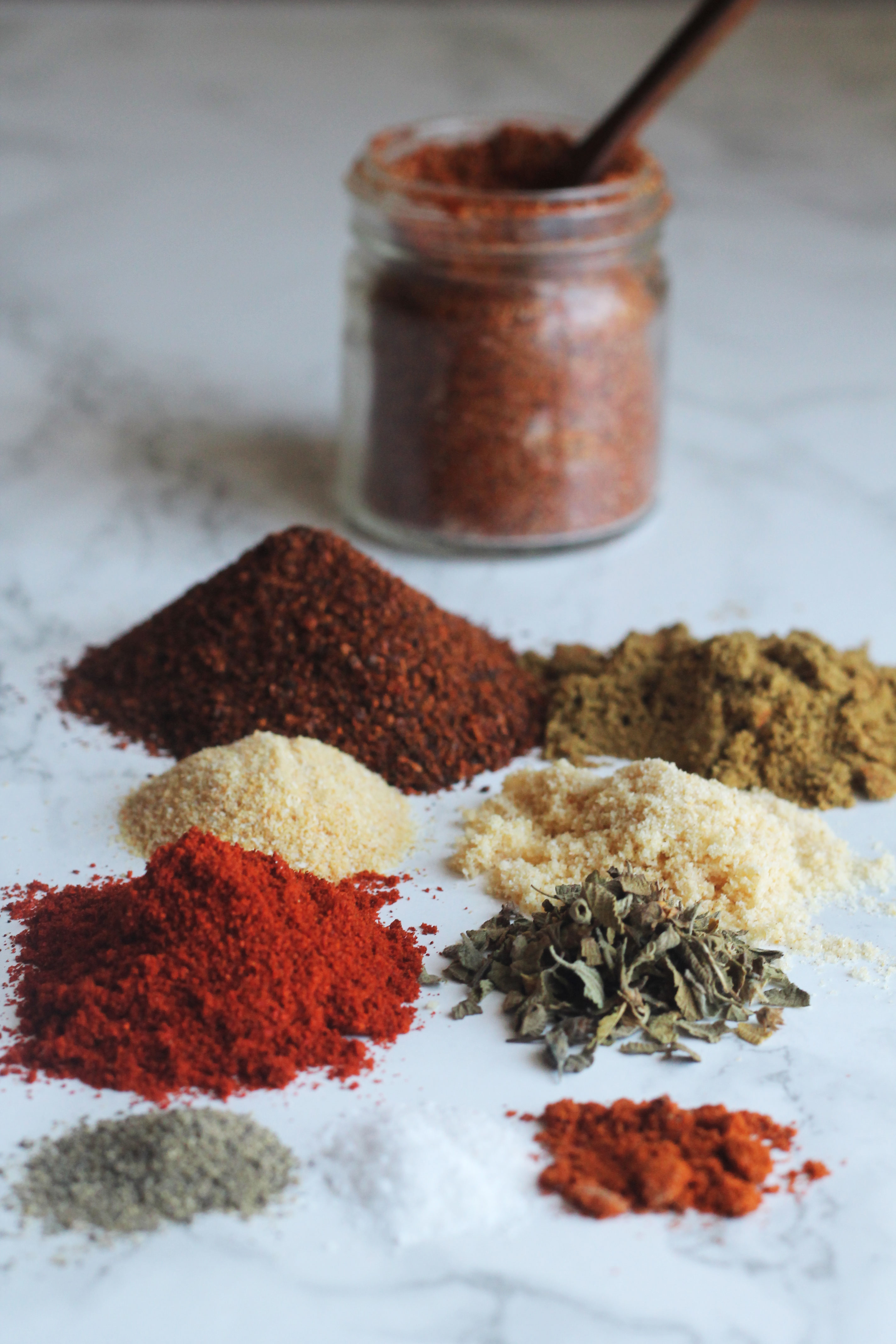 Make your own taco spice mix at home